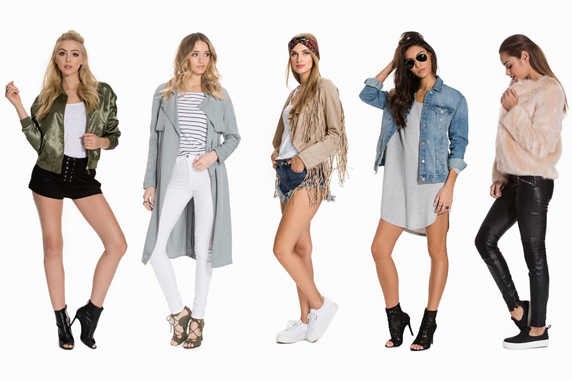 5 trendiga jackor våren 2016