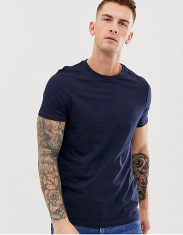 Blå T-shirt från Asos
