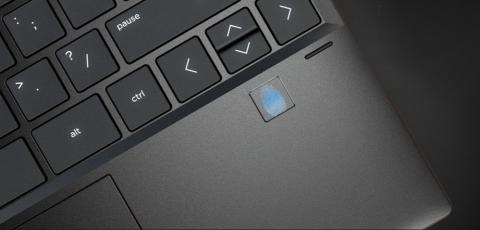 HP dator med säkerhetssystem