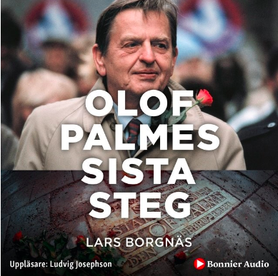 Omslag på boken Olof Palmes sista stag av Lars Borgnäs